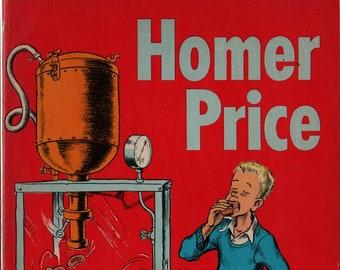 Homer Price + Robert McCloskey + 1962 + Vintage Kids Book
