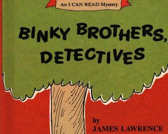Binky Brothers, Detectives An I Can Read Mystery * James Lawrence * Leonard Kessler * 1968 * Vintage Kids Book
