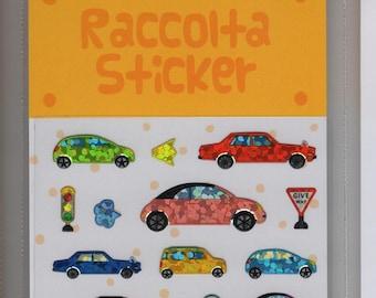 S & C Raccolta Sticker * Car Variety * Foil Sticker * Japanese Sticker Set