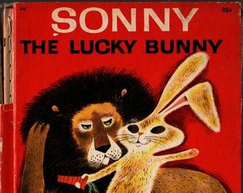 Sonny The Lucky Bunny + Marcia Martin + Art Seiden + 1976 + Vintage Kids Book