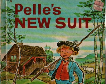Pelle's New Suit + Elsa Beskow + George Wilde + 1975 + Vintage Kids Book