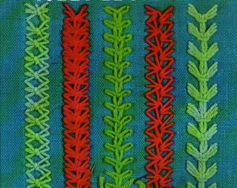 New Stitches for Needlecraft + Edith John + 1968 + Vintage Craft Book