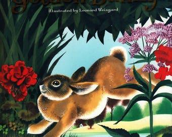 The Golden Bunny * Margaret Wise Brown * Leonard Weisgard * 1981 * Vintage Kids Book