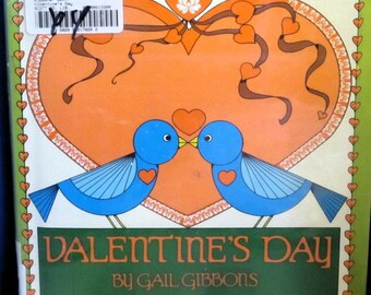 Valentine's Day * Gail Gibbons * 1986 * Vintage Kids Book