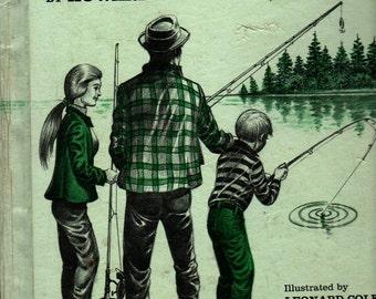 Fishing Talk For Beginners + Howard Liss + Leonard Cole + 1978 + Vintage Kids Book