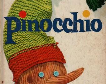 Pinocchio + C. Collodi + Lois Lenski + 1946 + Vintage Kids Book