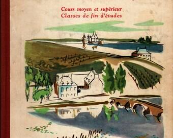 Chez Nous en France + E. Gardet and M.-L. Pechenard + M. Maisonnier + 1956 + Vintage Text Book