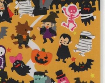 KAMIO Dracula Frankenstein and Mummy Sticker Set