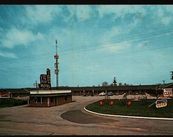 Clark Motel – Powell, Tennessee – Vintage Photo Postcard