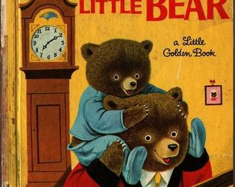 Good Night, Little Bear a Little Golden Book - Patsy Scarry - Richard Scarry - 1969 - Vintage Kids Book