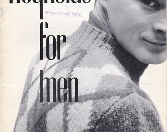 Reynolds For Men Vol. 40a + Vintage Knitting Patterns