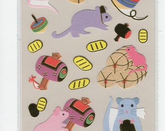 S & C * Mushroom Season * Hedgehog * Sticker Set * Japanese Stationery