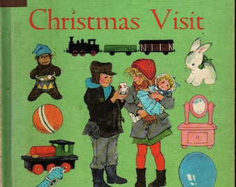 Timothy's Christmas Visit The Read For Fun Series * Ann Mari Falk * Ilon Wikland * 1964 * Vintage Kids Book