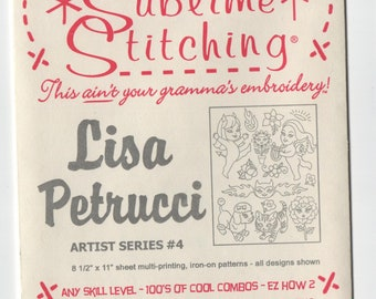 Sublime Stitching Embroidery Pattern: Lisa Petrucci