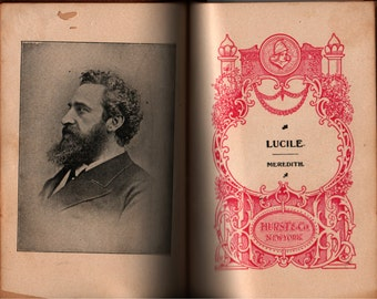 Lucile * Owen Meredith * Vintage Book
