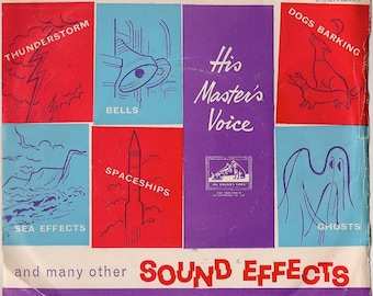 Trains (5 effects) and many other sound effects + 45 RPM record
