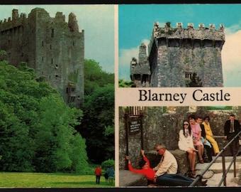 Blarney Castle + County Cork + Ireland + Vintage Souvenir Photo Postcard