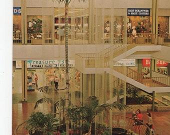 Rain Fountain * Topanga Plaza * Canoga Park * California * 1966 * Vintage Postcard