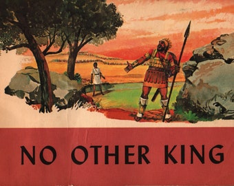 No Other King + Samuel Clark + William Aspinall + The Westminster Press + 1962 + Vintage Religious Book