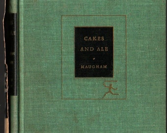 Cakes and Ale * Modern Library * W. Somerset Maugham * Random House * 1950 * Vintage Literature Book