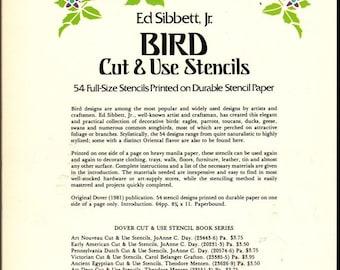 Bird Cut Use Stencils