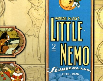 Little Nemo in Slumberland 1910-1926 Volume 2 * Winsor McCay * Checker Book Publishing Group * 2008 * Vintage Comic Book