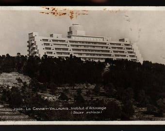 Le Cannet * Vallauris * Institut d'Actinologie (Souzy Architecte) * Vintage Photo Postcard