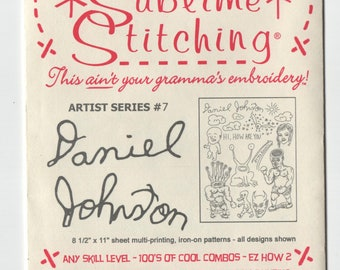 Sublime Stitching Embroidery Pattern: Daniel Johnston