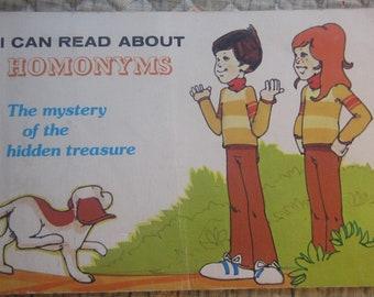 I Can Read About Homonyms * Robyn Supraner * Joel Snyder * Troll Associates * 1977 * Vintage Kids Book