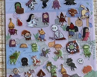 Kamio * Petit Mark Seal * Spooky * Apparition * Japanese Sticker Set