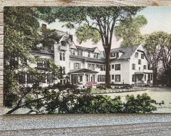 Williams Inn * Williamstown * Berkshires * Massachusetts * Linen * Vintage Postcard