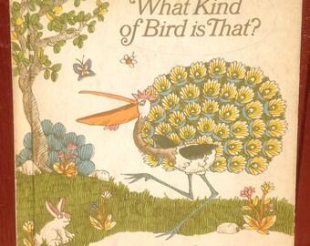 What Kind of Bird is That? + Mirra Ginsburg + Giulion Maestro + 1973 + Vintage Kids Book