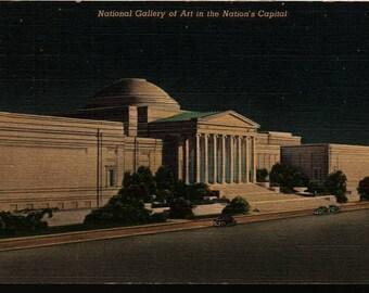 National Gallery of Art - Washington, D.C. - Vintage Postcard