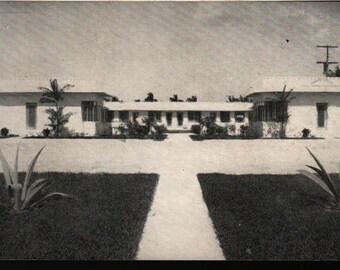 Harris House * Hollywood-in-Florida * Vintage Postcard