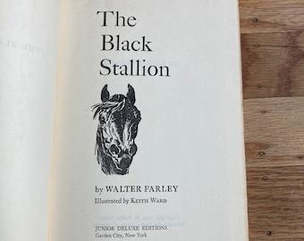The Black Stallion * Walter Farley * Keith Ward * Junior Deluxe Editions * 1941 * Vintage Horse Book
