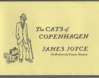 The Cats of Copenhagen * First Edition * James Joyce * Casey Sorrow * Scribner * 2012 * Vintage Kids Book