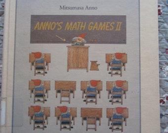 Anno's Math Games II * Mitsumasa Anno * Philomel Books * 1987 * Vintage Kids Book