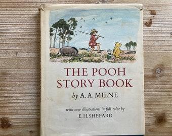 The Pooh Story Book * A. A. Milne * E. H. Shepard * E P Dutton & Co * 1965 * Vintage Kids Book
