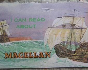 I Can Read About Magellan * Darrow Schecter * Herb Mott * Troll Associates * 1979 * Vintage Kids Book
