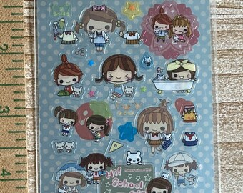 Crux * High School Girls * Japanese Sticker Set
