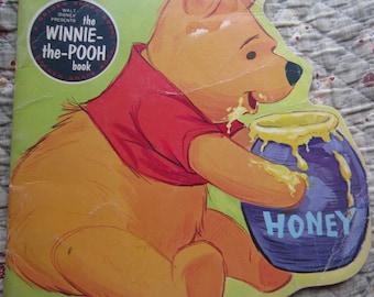 The Winnie-the-Pooh Book A Golden Shape Book * The Walt Disney Studio * The Golden Press * 1979 * Vintage Kids Book