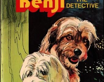 Joe Camp's Benji the Detective * Jean Lewis * Werner Willis * 1978 * Vintage Kids Book