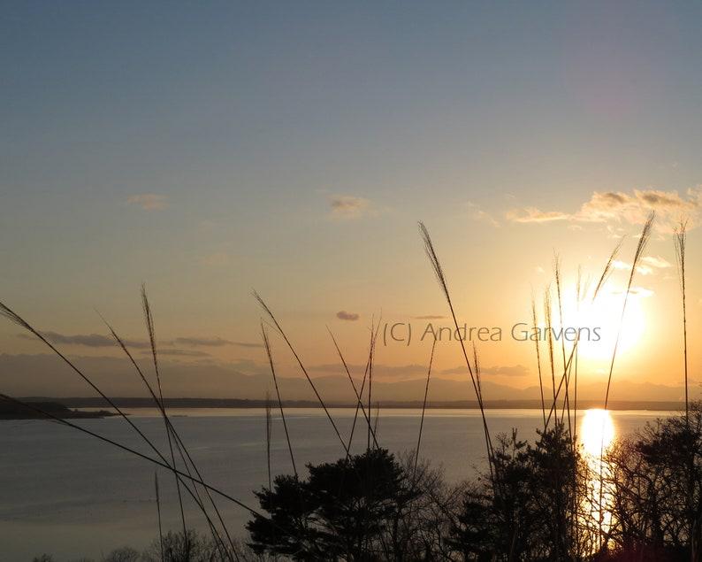 Fine Art Photography  Misawa Aomori Japan  2017  Sunset image 0