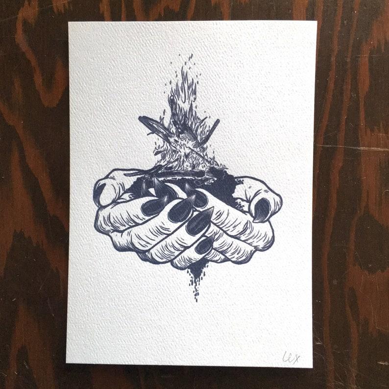 Slow Burn  art print image 0