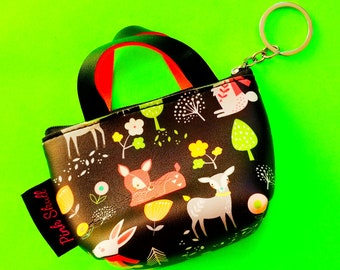 More Styles Sweet Treat Cupcake Donut Snack Time Fun Food Zippered Pouch Wallet Bonded Vinyl Coin Purse