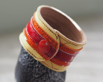 Jayne's Hat inspired leather wrist cuff
