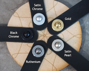 Schaller S-Lock Sets for Guitar Straps--choice of 5 finishes