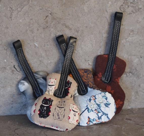 Guitar shaped Catnip Toy