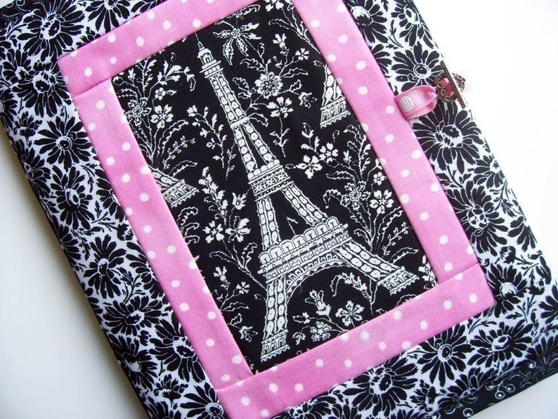 Quilted Journal Cover Pattern PDF Book Cover instructions image 0