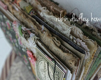 Online junk journal class French Bohemian Travelers Junk Journal, Please read full description, journal class,  journal, travelers notebook